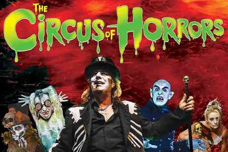 The Circus of Horrors - Stalls ticket to Circus of Horrors, Voodoo - Save 50%