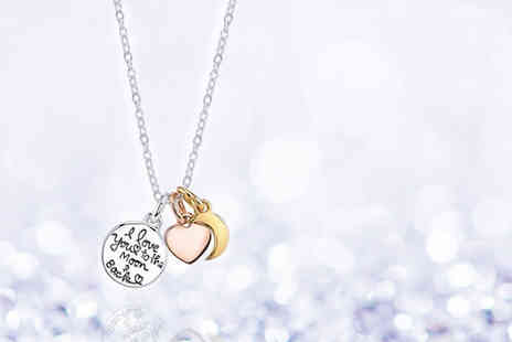 Solo Act - I Love You to the Moon & Back necklace - Save 79%