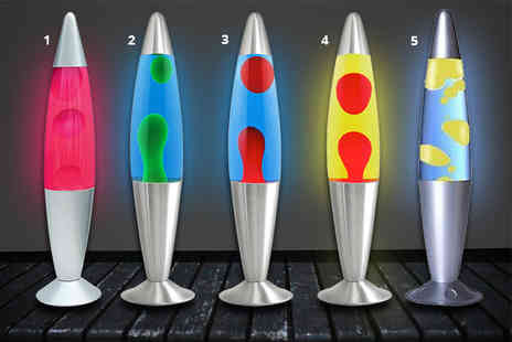 Funky Cart - Peaceful motion lava lamp select from eight colours - Save 63%