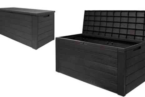 Groupon Goods Global GmbH - Deuba Garden Storage Box with Hinged Lid - Save 0%