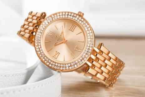 Deal Of Fame - Timothy Stone Burst Womens Watch with Crystals from Swarovski With Free Delivery - Save 87%
