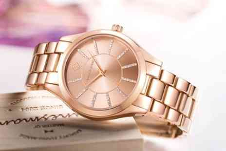 DEALOFFAME - Timothy Stone Charme Womens Watches Made with Crystals from Swarovski With Free Delivery - Save 86%