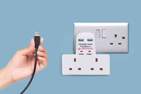 Groupon Goods Global GmbH - One, Two or Three Benross Wall Adapters with Usb Ports - Save 55%