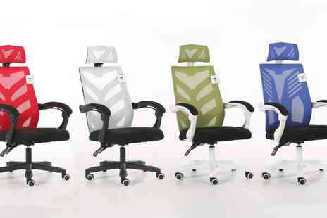 Groupon Goods Global GmbH - Transformer Style Office Swivel Chair With Free Delivery - Save 30%