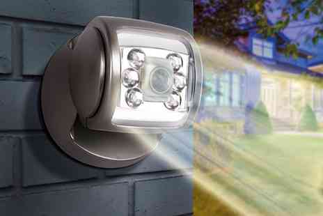Groupon Goods Global GmbH - One, Two, Three or Four Wireless Led Porch Motion Sensor Lights - Save 77%