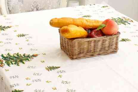 Groupon Goods Global GmbH - Christmas Disposable Tablecloths in Choice of Design - Save 0%