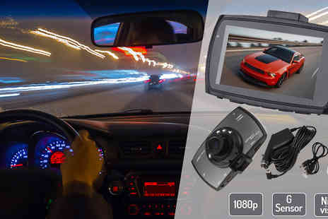 Black Sheep Limited - HD 1080P Car Dash Cam with Night Vision - Save 78%