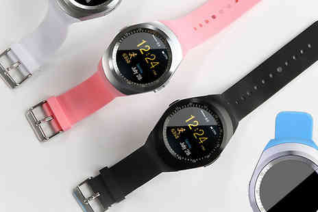 HXT Goods - Y1 Bluetooth Smart Watch Choose Four Colours - Save 86%
