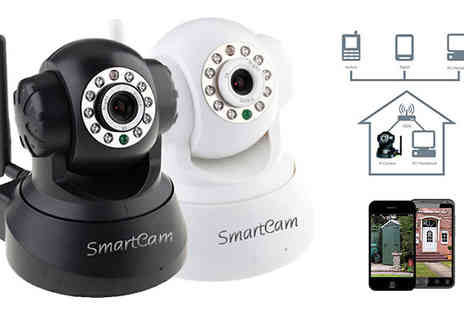 J & Y - SmartHome Motion Sensor Camera Available in Two Colours - Save 61%