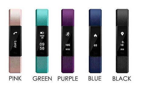Black Sheep - 12 in 1 Touchscreen Fitness Tracker with Optional Heart Rate Monitor Choose 5 Colours - Save 88%