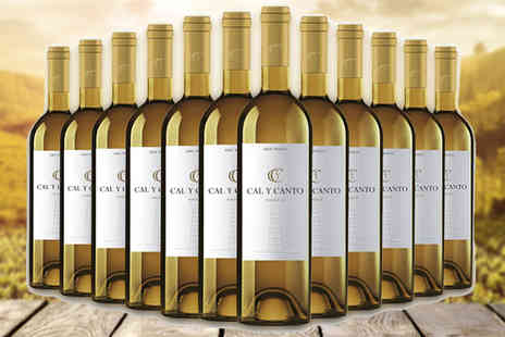 karpedeal.com - 12 Bottles of Award-Winning Cal y Canto White Wine - Save 61%