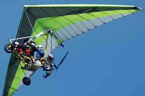 Red Letter Days - Microlight flying experience at a choice of 16 locations - Save 0%
