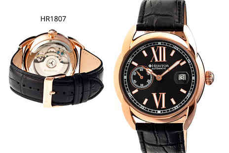 Wristy Business - Mens Heritor Burnell watch plus Delivery is included - Save 88%