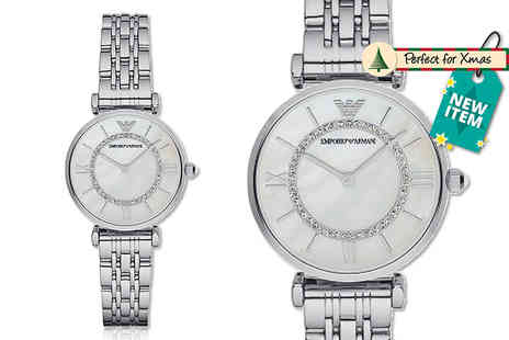 Wristy Business - Ladies Emporio Armani AR1908 watch - Save 55%