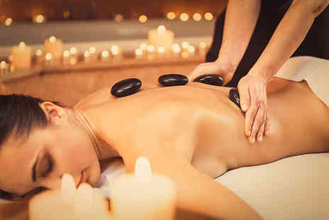 London Ladies Hair & Beauty Clinic - 1 hour pamper package with a hot stone massage, a facial and a hot drink - Save 71%