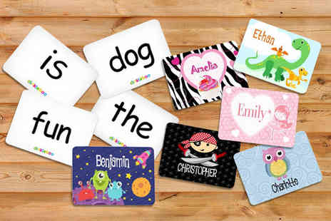 Dinkleboo - Personalised animal card memory game choose multiple designs - Save 58%