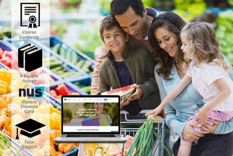 Harley Oxford - Online family health & nutrition course - Save 92%