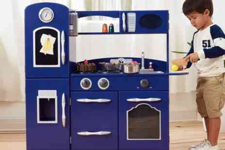 Groupon Goods Global GmbH - Teamson One or Two Piece Childrens Classic Play Kitchen With Free Delivery - Save 17%