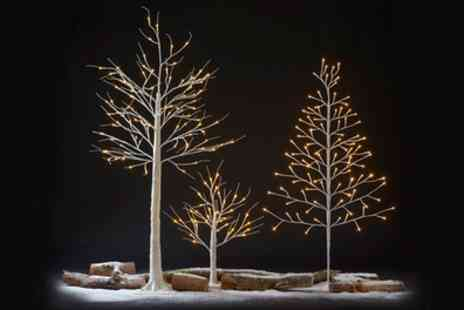 Groupon Goods Global GmbH - Festive Pre Lit Led Decorative Tree - Save 77%