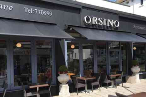 Orsino Restaurant - Two Course Italian Meal for Two or Four - Save 55%