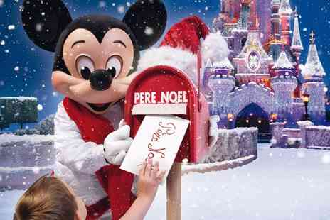 Coach Innovations - Disneyland Paris and Walt Disney Studios Enchanted Christmas Trip with Day Ticket To Parks - Save 0%