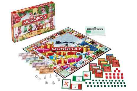 Groupon Goods Global GmbH - Winning Moves Christmas Monopoly - Save 17%