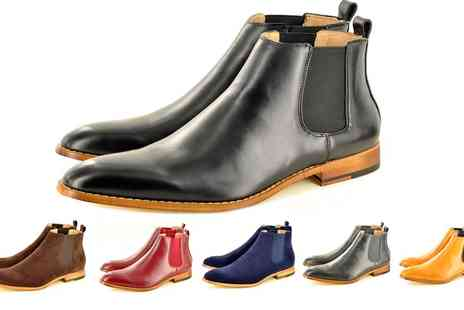 Groupon Goods Global GmbH - Mens Chelsea Boots in Choice of Style and Colour - Save 0%