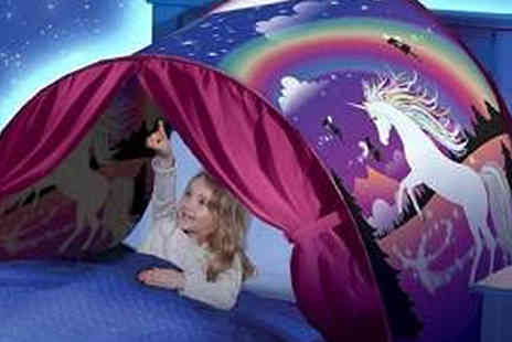 Graboom - Magical Unicorn Bed Tent - Save 83%
