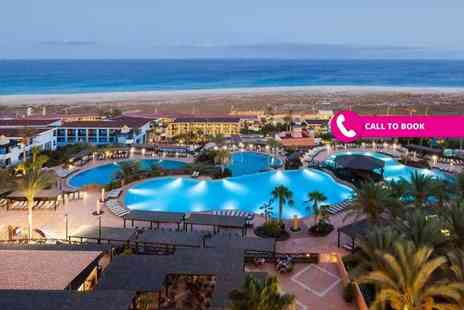Super Escapes Travel - Seven night 4 Star all inclusive Fuerteventura break including return flights - Save 36%