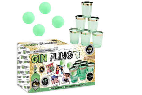 Direct 2 Publik - Gin Fling party game - Save 67%