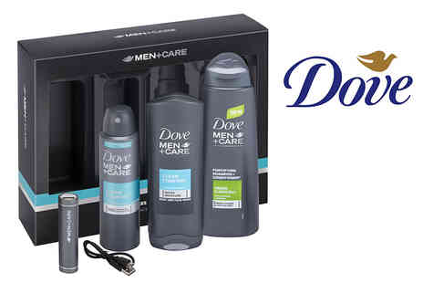 Advanced Retail Solutions - Dove Care mens gift set with mobile charger. - Save 0%
