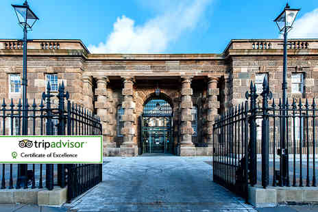 Crumlin Road Gaol - Crumlin Road Gaol guided tour and a main course each for two or four - Save 45%