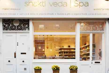 Shakti Veda Spa - Choice of Organic Pamper Package - Save 56%