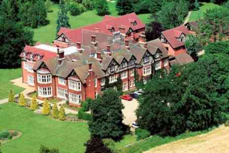 Scalford Hall Hotel - One or Two Nights Stay for Two with Breakfast, Dinner and Late Check Out - Save 39%