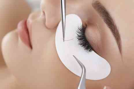 Feather Boa Nails and Beauty - Full Set of Eyelash Extensions - Save 53%