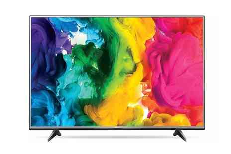 Groupon Goods Global GmbH - LG 60UH615V 60 Inch 4K Ultra HD LED Smart TV With Free Delivery - Save 18%