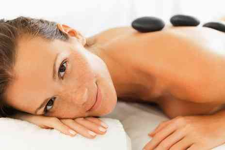 Mind2Body - Hot Stone Back, Neck, Shoulder Massage with Facial - Save 48%