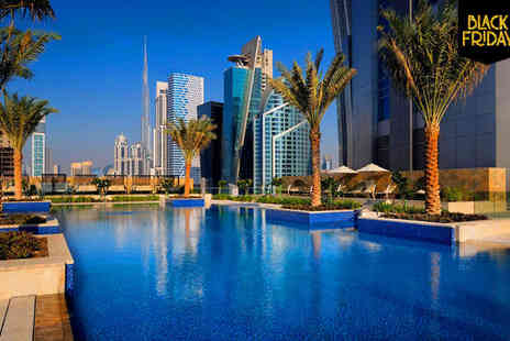 JW Marriott Marquis Dubai - Five Star Luxury 2 Day Black Friday Special Stay For Two - Save 68%