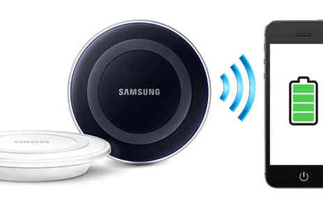 Fone Plaza - Samsung Wireless Charging Station in Black or White - Save 18%