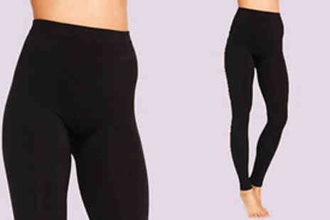 Nothing New 2 Wear - 4 Pairs of Fleece Lined Leggings - Save 83%