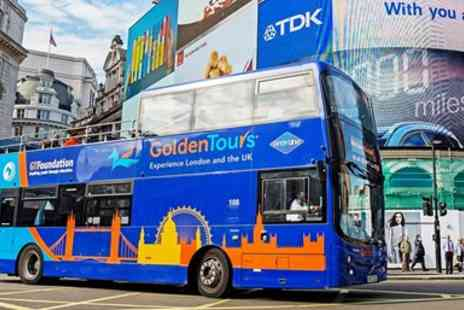 Golden Tours - 3 hour sightseeing bus tour of London - Save 50%