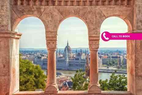 Super Escapes Travel - Two night, 4 Star Budapest spa break with breakfast and return flights - Save 39%