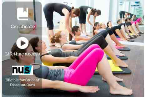 OfCourse - Online pilates instructor training course - Save 81%