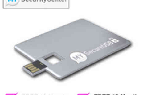 MY Security Center - USB 16  GB Silver Card - Save 92%