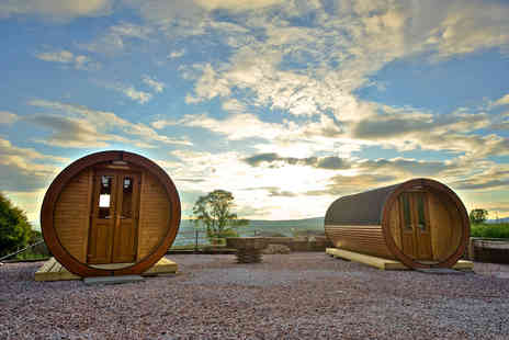 Roseland Holiday Park - Two night Isle of Bute glamping break for up to four - Save 46%
