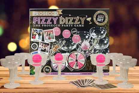 Direct 2 Publik - Prosecco Fizzy Dizzy party game - Save 63%