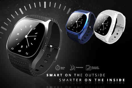 Charles Oscar - Waterproof Bluetooth M26 smart watch - Save 89%