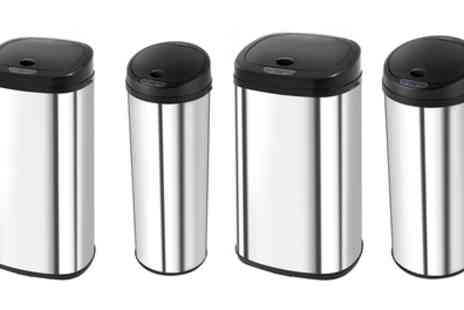 Groupon Goods Global GmbH - Morphy Richards 42L or 50L Sensor Bin in Choice of Shape - Save 75%