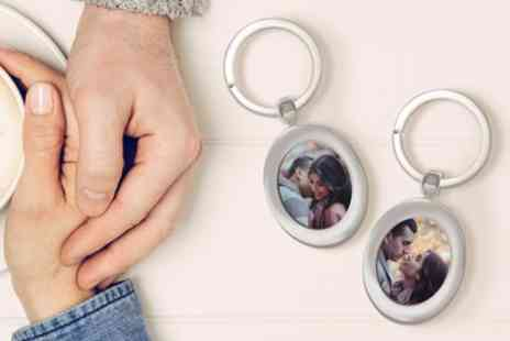 Printerpix - One or Two Personalised Key Rings or Mirrors - Save 33%
