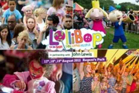 Lollibop Fesitval - Lollibop Children's Festival tickets in Regents Park - Save 22%